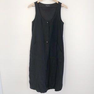 Madewell Broadway and Broome Black Silk Dress